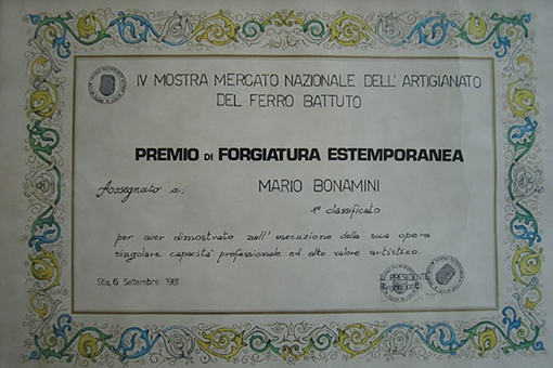 Premio di Forgiatura estemporanea